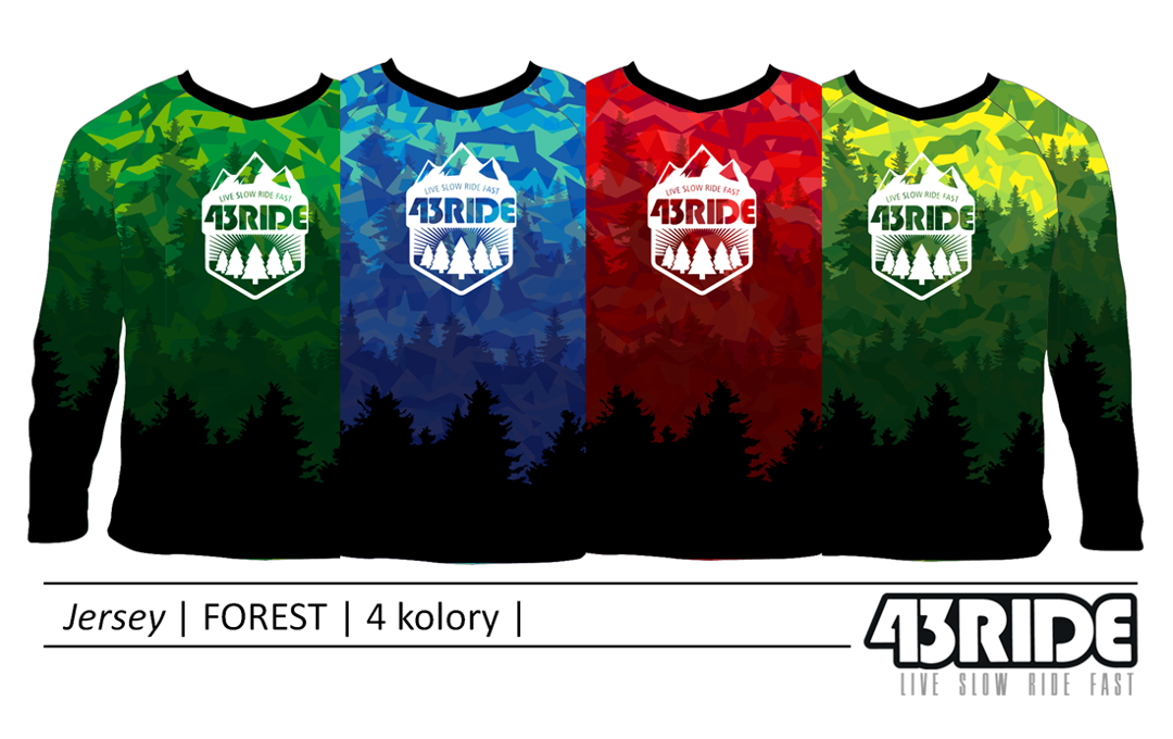 43RIDE Jersey Forest 2017