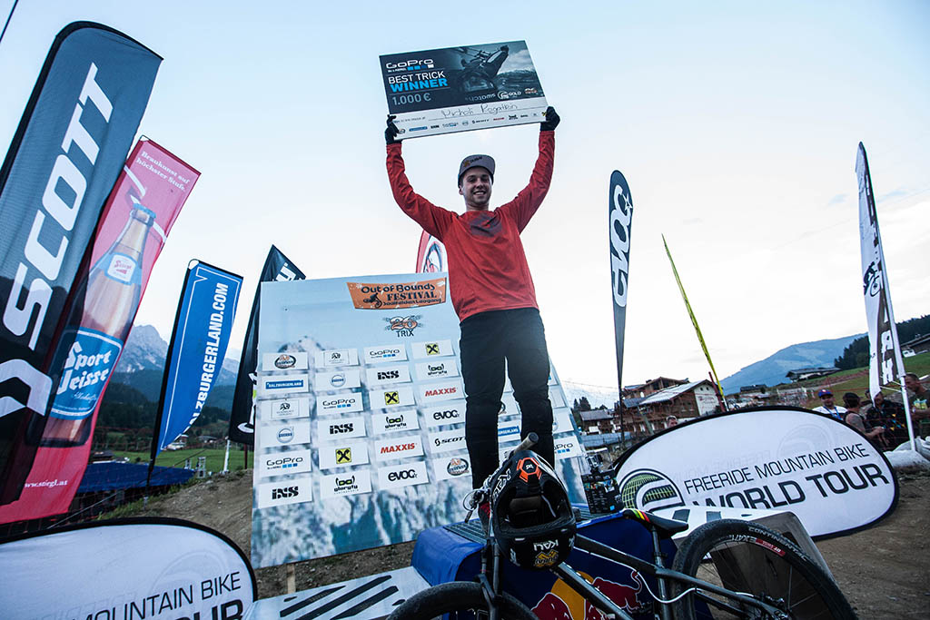 Antoine Bizet wygrywa zawody 26TRIX w Leogangu