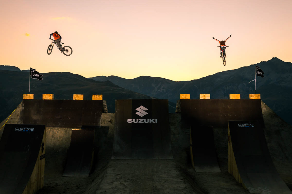Suzuki Nine Knights MTB 2016 heads to Reschenpass in Italy