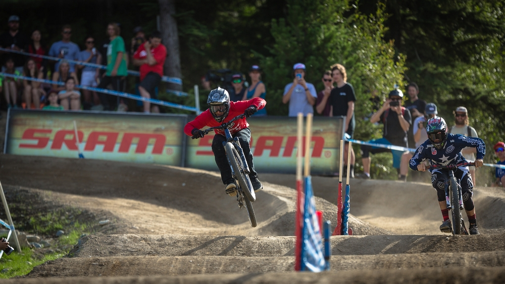 Crankworx Whistler opens with a big Dual Speed win