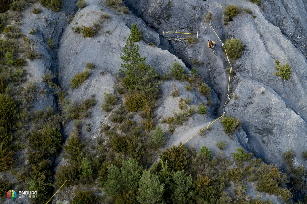 Sam Hill and Cecile Ravanel win the penultimate round of the Enduro World Series