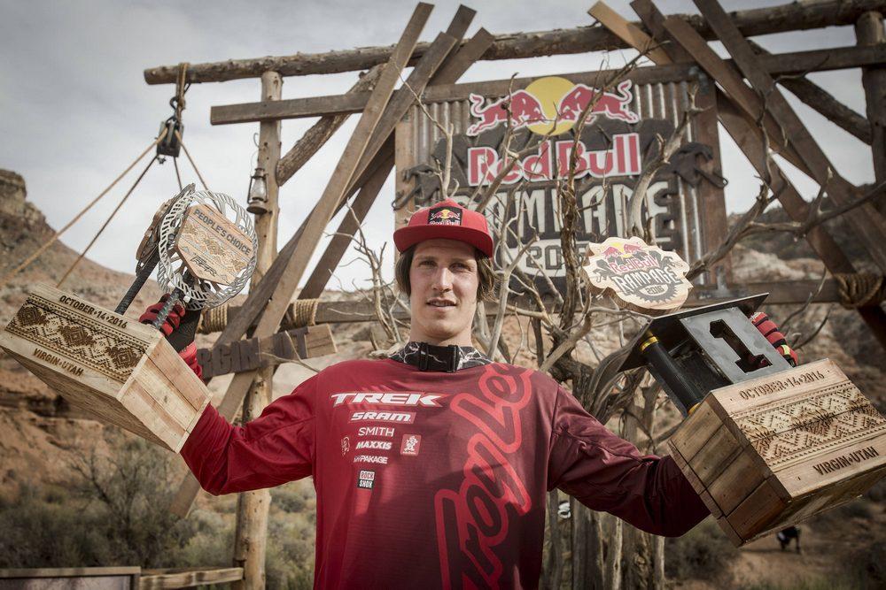 Brandon Semenuk wygrywa jedenastą edycję Red Bull Rampage