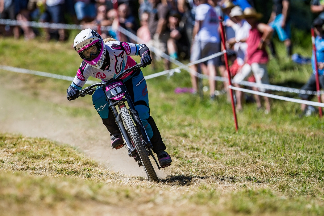 Down but less dirty for Crankworx Les Gets Downhill presented by iXS