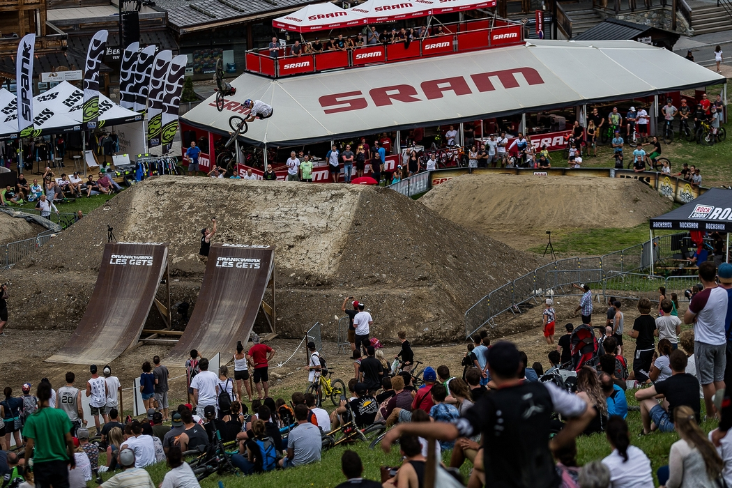 Stamina speed and style in second Crankworx event