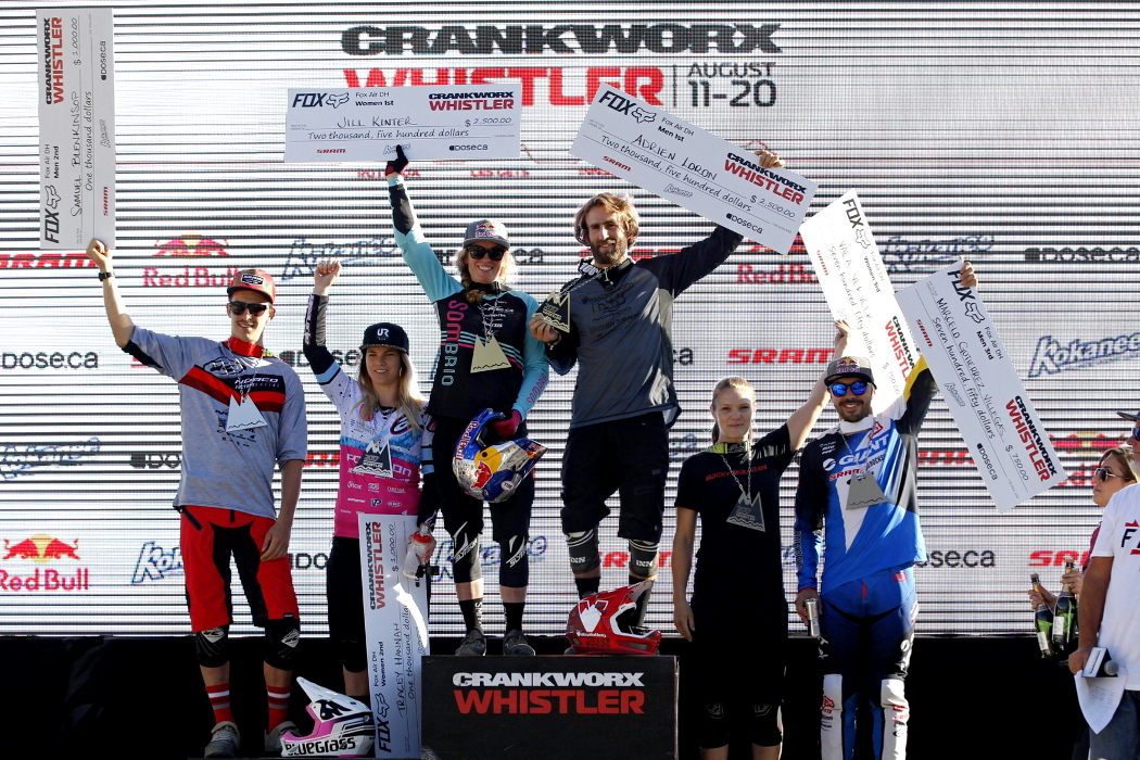 Frenchman on fire in the fastest downhill at Crankworx Whistler