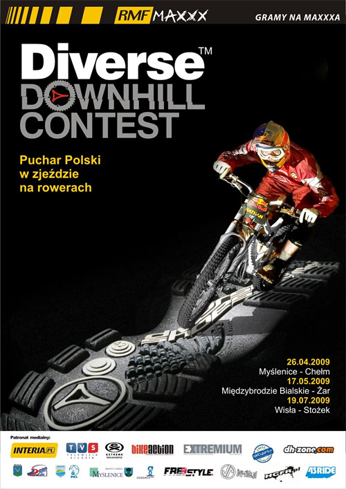 Diverse Downhill Contest 2009 - Miedzybrodzie Bialskie