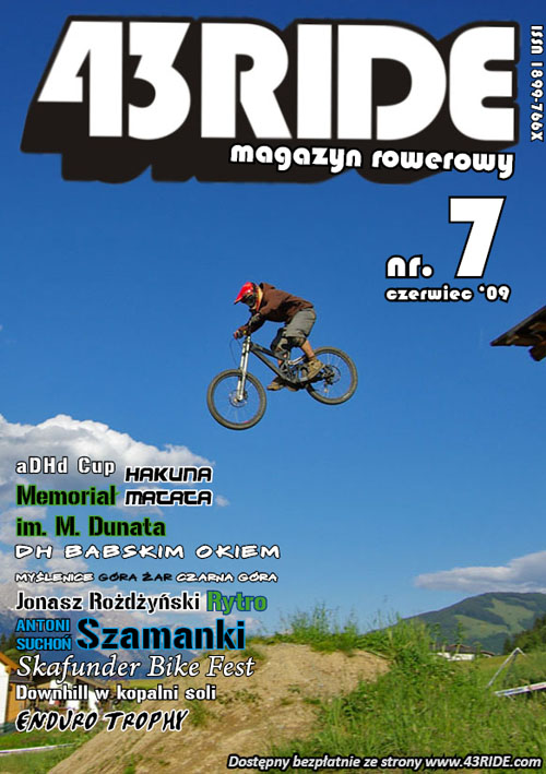 Siódmy numer magazynu rowerowego 43RIDE do pobrania