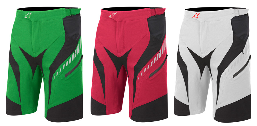 drop shorts green