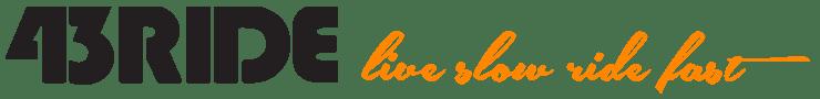 43RIDE magazyn rowerowy Logo