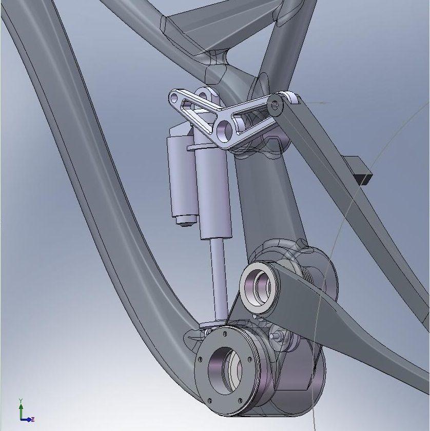 Proto DH01 - bardzo ciekawy projekt ramy DH