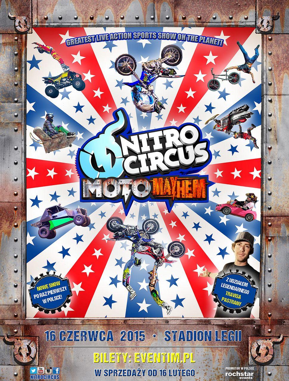 Nitro Circus Live Travisa Pastrany ponownie w Polsce!