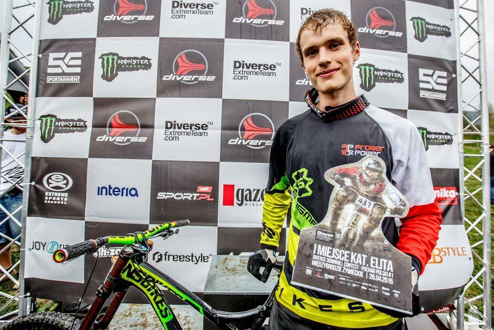 Żarska masakra piłą mechaniczną, czyli Diverse Downhill Contest 2015 na Górze Żar