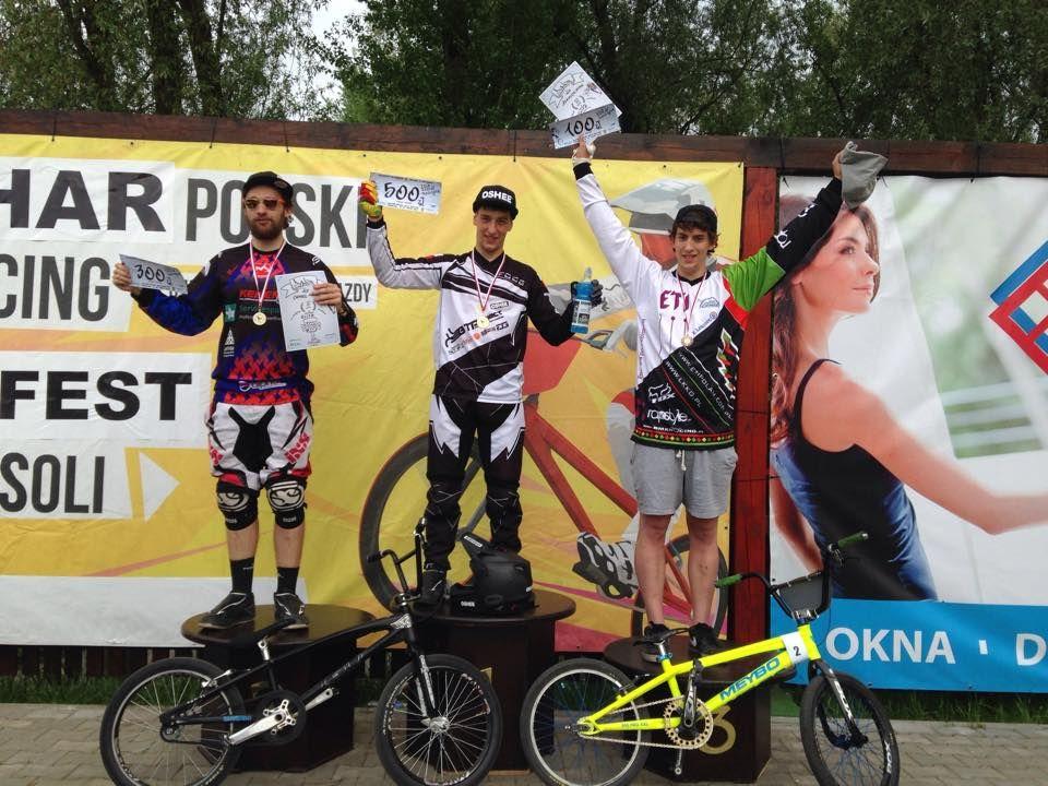 Puchar Polski BMX Racing 2015 #1: Nowa Sól - wyniki oraz klasyfikacja