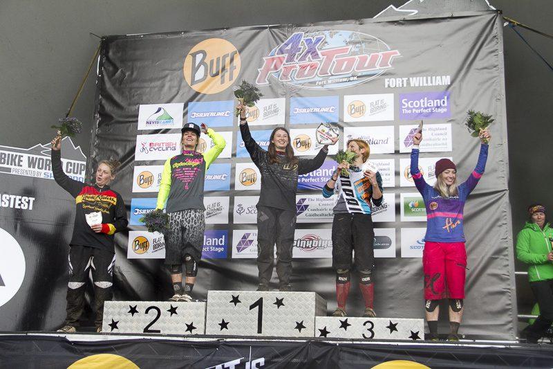 4X Pro Tour 2015 rd2 Fort William - wyniki