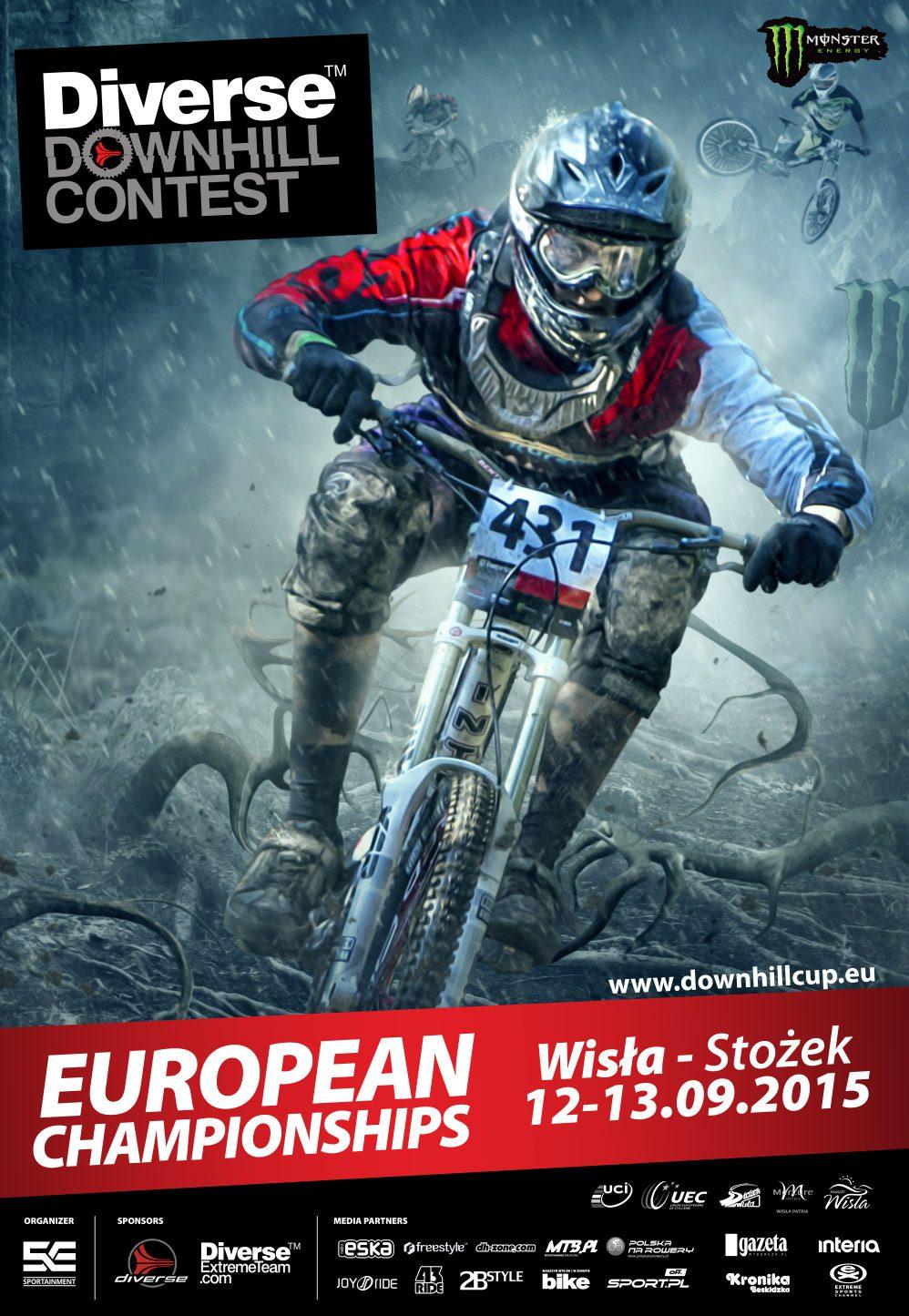 Mistrzostwa Europy w zjeździe na rowerach: Diverse Downhill Contest - video zapowiedź
