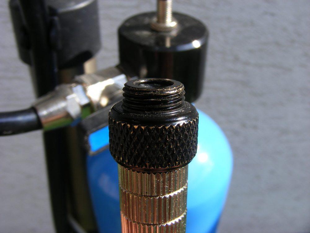 Test: butla-kompresor Airshot
