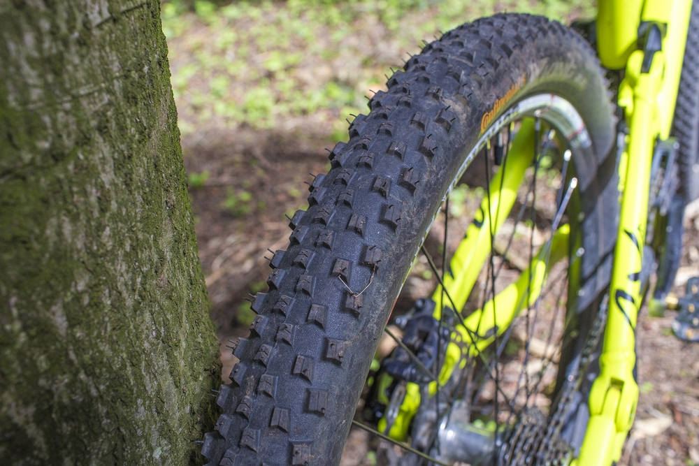 Test: opony Continental X-King 26x2.2