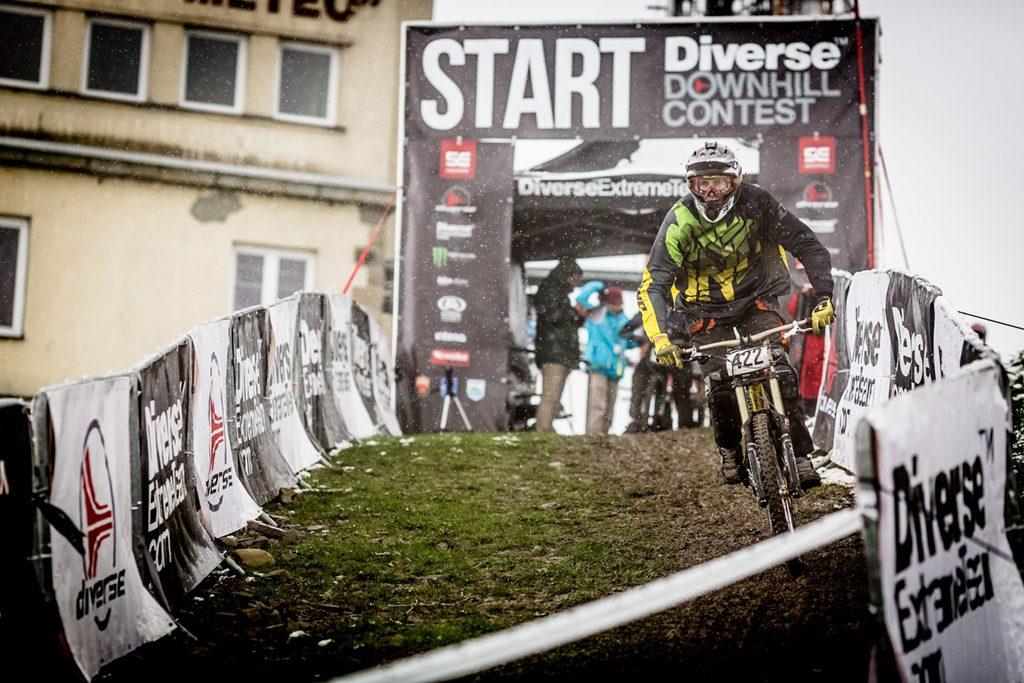 Diverse Downhill Contest – błotna batalia na górze Żar