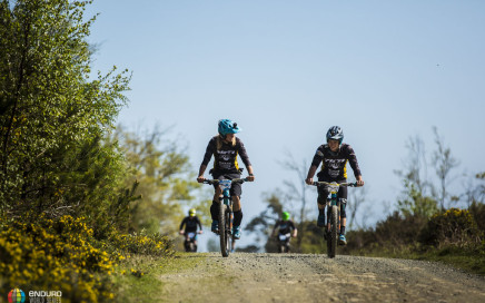 There'll be plenty of time for transition stories during race day with riders completing 7 laps of the hill