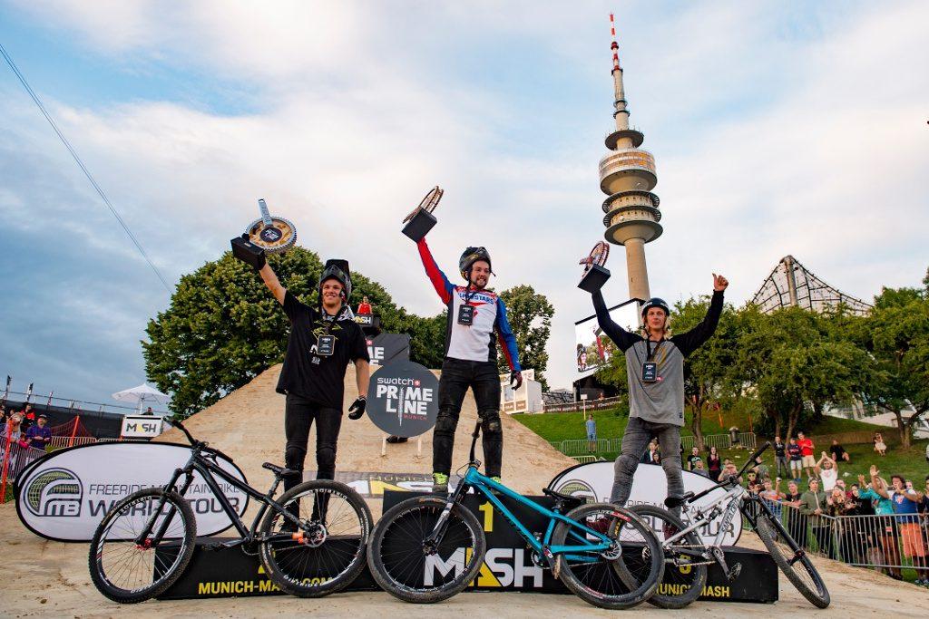 Nicholi Rogatkin wygrywa Swatch Prime Line w Monachium