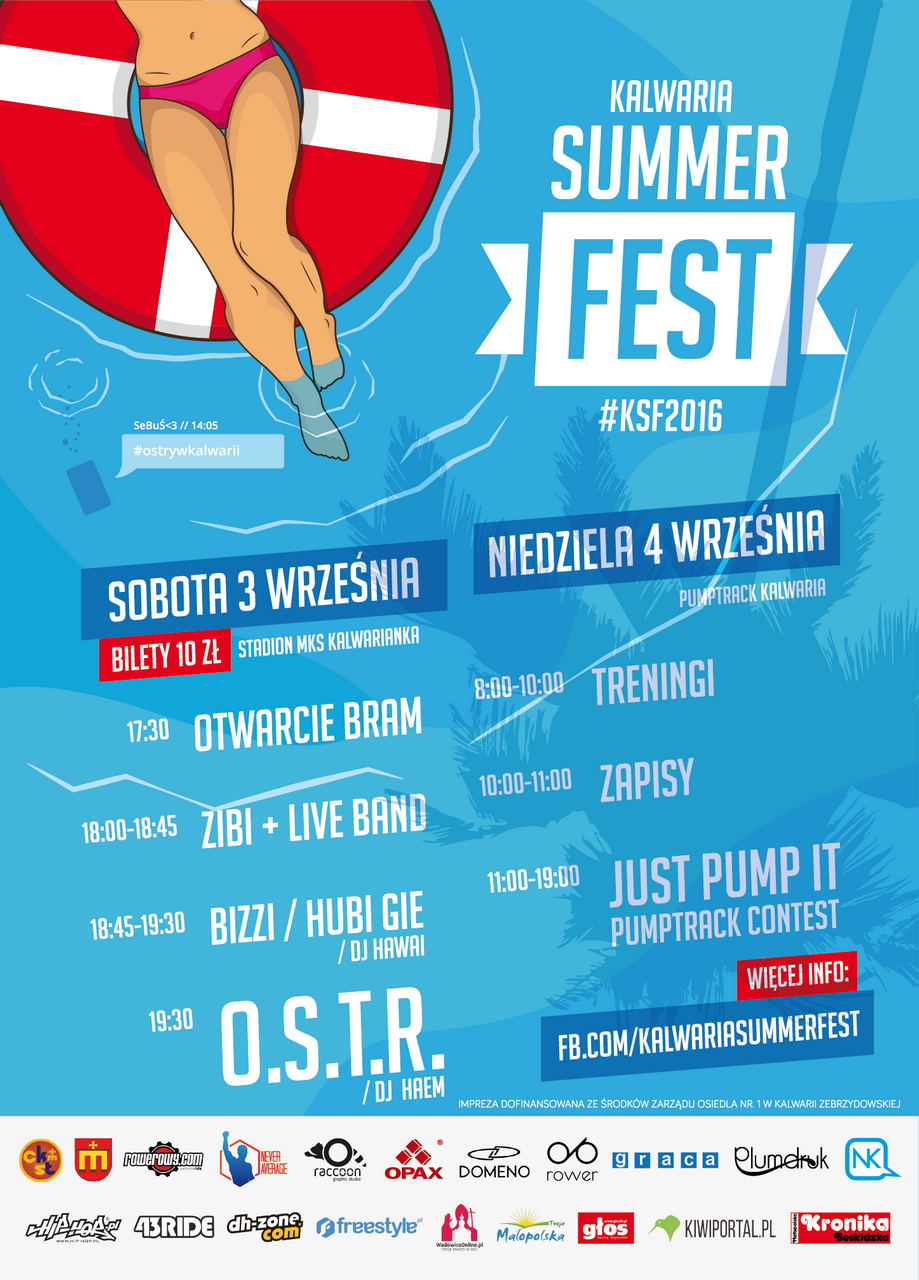 Kalwaria Summer Fest 2016 #ostrywkalwarii