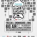 Czy jesteś gotowy na Honor Winter Sports Festival 2017 powered by Huawei?