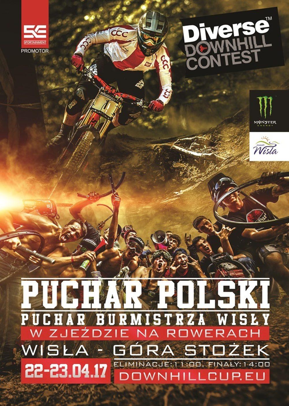 Diverse Downhill Contest: Puchar Polski 2017 wystartuje w Wiśle