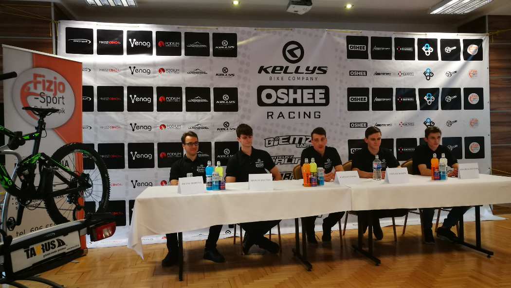 Nowa drużyna Bartosza Giemzy z szansą na mistrzostwo w Enduro MTB