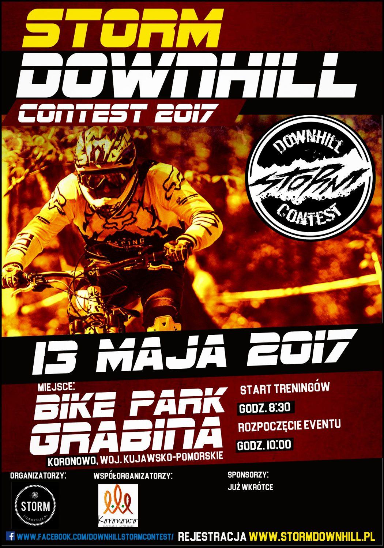 Zapowiedź Storm Downhill Contest - 13.05.2017