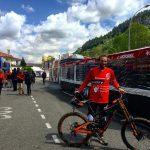 Puchar Świata DH 2017 #1: Claudio Caluori prezentuje trasę w Lourdes