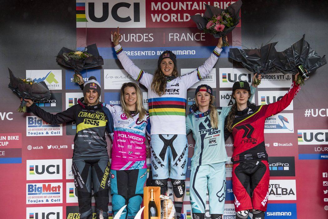 Puchar Świata DH 2017 #1: Alexandre Fayolle i Rachel Atherton triumfują w Lourdes