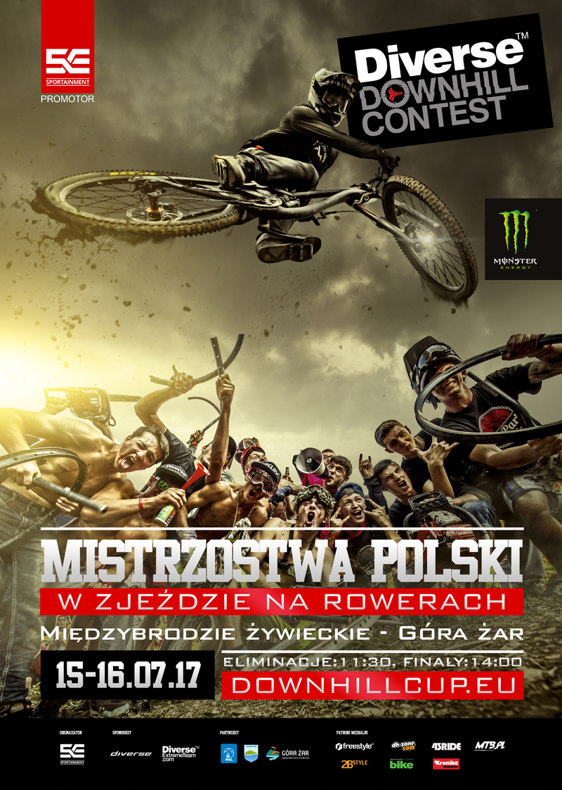 Diverse Downhill Contest: ruszyły zapisy na Mistrzostwa Polski