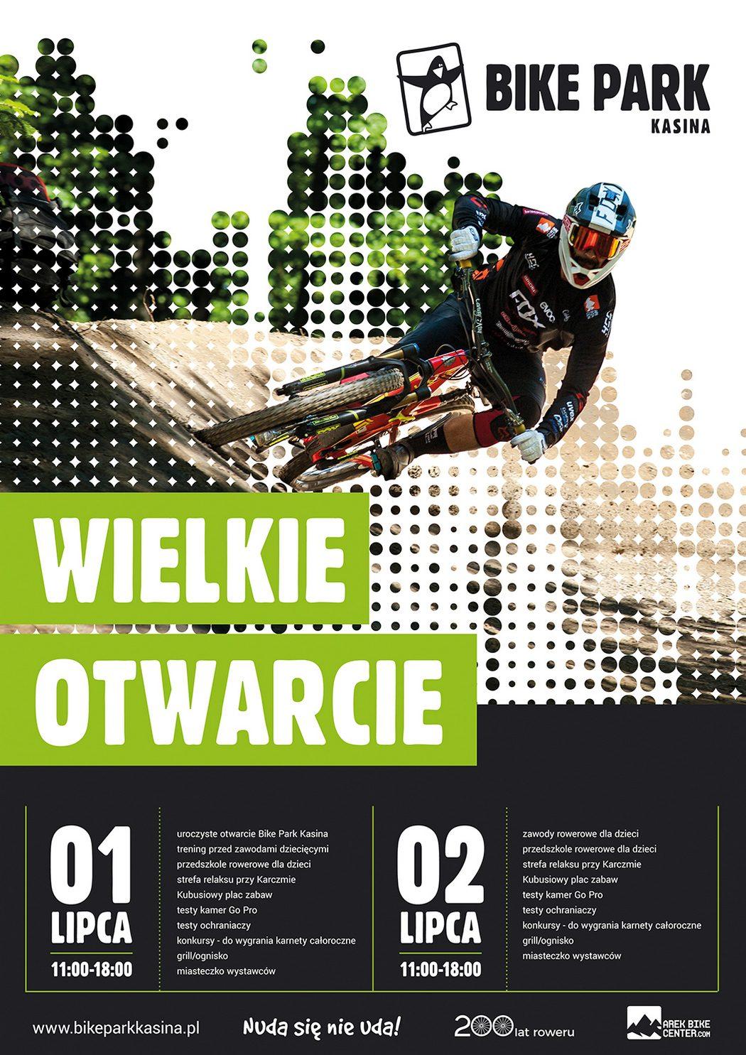 Otwarcie Bike Parku w Kasinie Wielkiej!