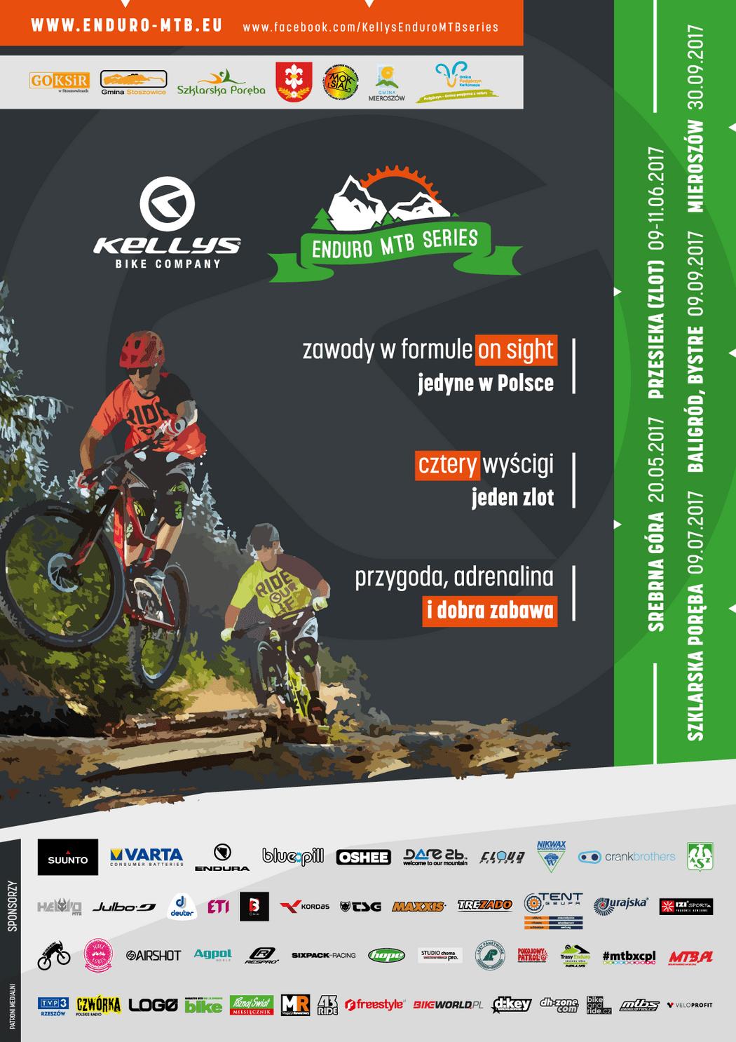Startują zapisy na zawody kolarskie Kellys Enduro MTB Series