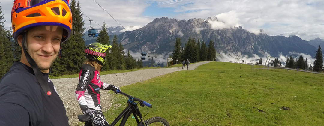 Odkrywamy region Saalfelden Leogang – część 1: Bike Park Leogang